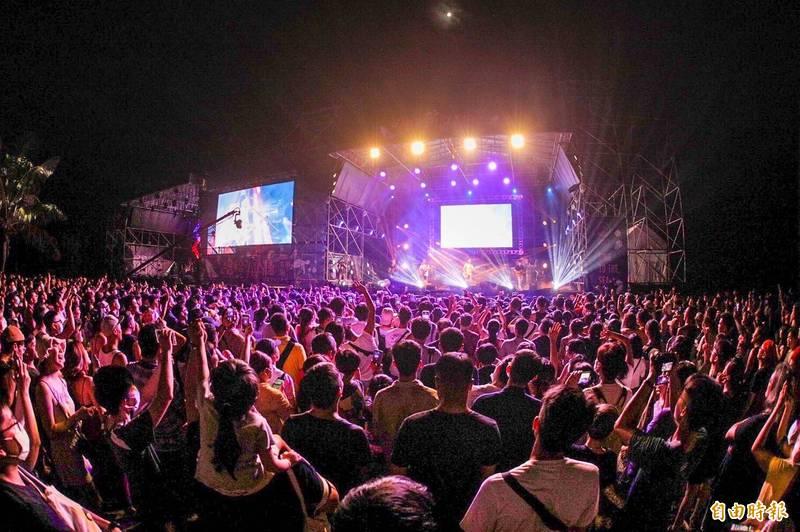 屏縣府去年獨立音樂活動受歡迎,今年清明連假確定再辦。(資料照,記者蔡宗憲攝)