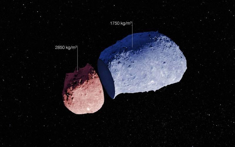 小行星25143「糸川」(又稱絲川)上採集回來的樣本中含有水與有機物,對於解答地球生命起源之謎又邁進了一步。(歐新社)
