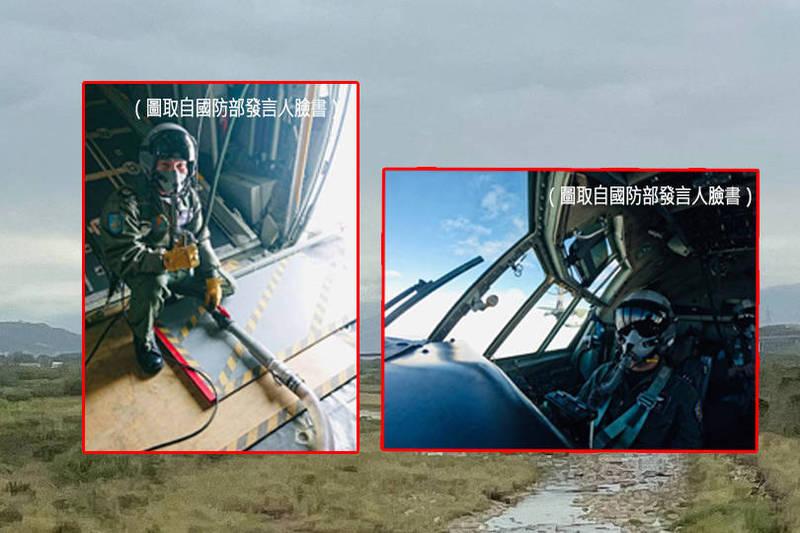 全台各地水情拉警報,而今(6)日上午鋒面接近,台灣海峽北部有對流雲系移入,空軍也把握水氣增加的機會,今針對北部地區實施「空中人工增雨」作業。(本報合成)