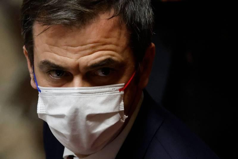 法國衛生部長維宏(Olivier Veran)5日說,他能理解義大利政府的決定,並稱法國「可以做同樣的事情」。(法新社資料照)