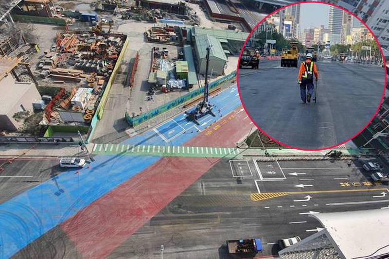 [新聞] 揮汗施工! 中博高架橋拆除已完成 96.2%