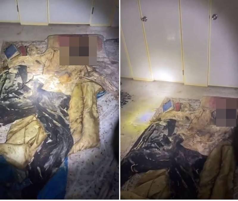 臉書專頁「鄉村天地直播台」網友6日凌晨在台南市龍崎一處廢墟探險,並直播過程,不料竟撞見屍體。(翻攝「探險直播台專用分享社團」)