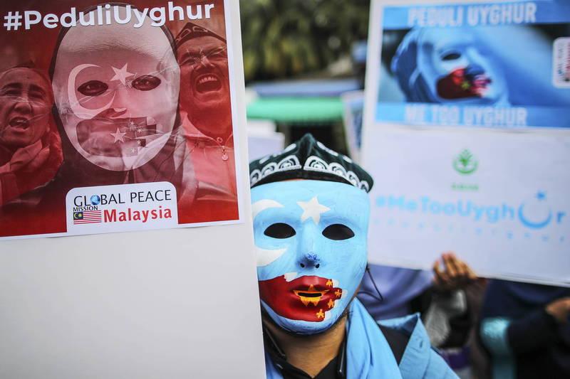 美國國會議員正在起草一項跨黨派法案,加快新疆維吾爾族難民申請。(歐新社資料照)