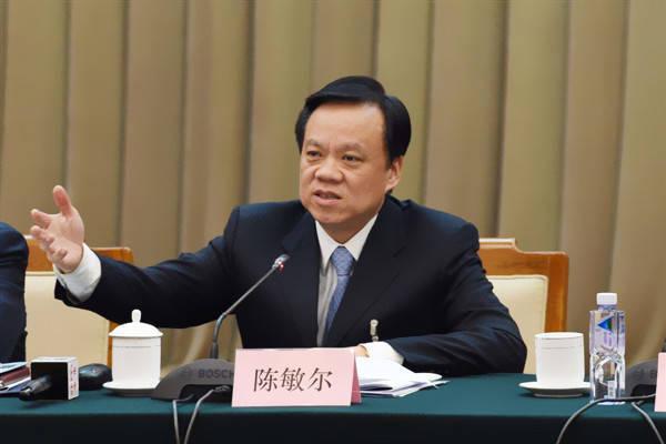 中國重慶市委書記陳敏爾。(圖擷取自網路)