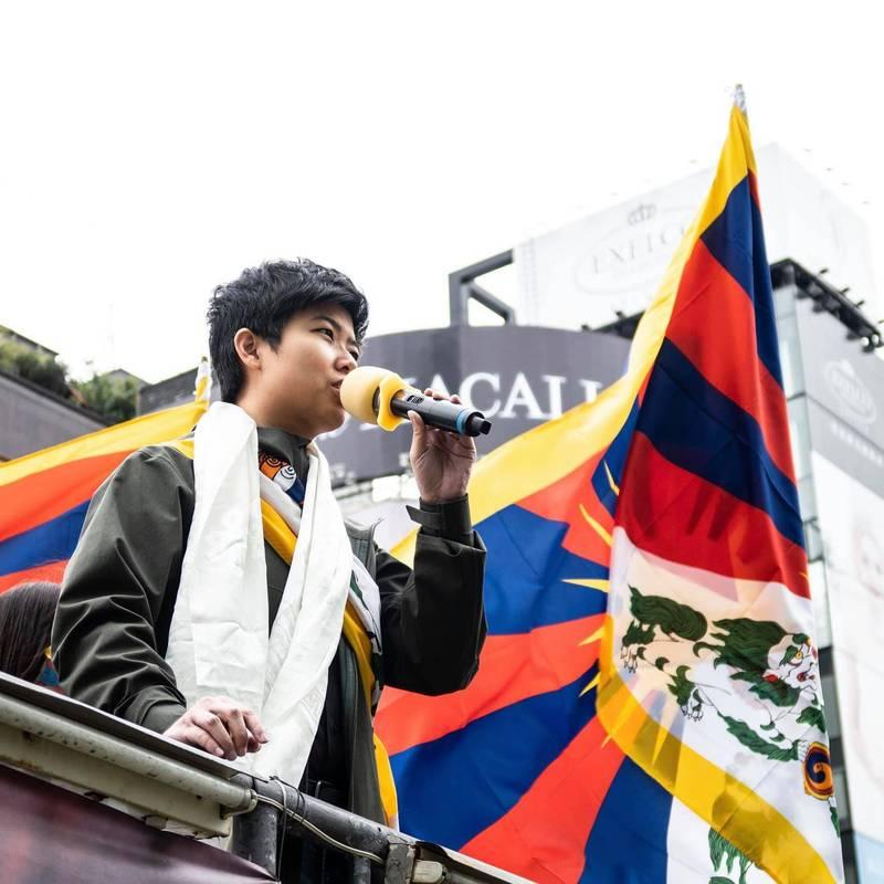 獨裁者無法理解「自由和尊嚴」 苗博雅挺西藏抗暴!