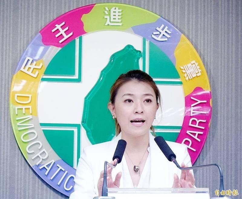 民進黨發言人顏若芳。(資料照)