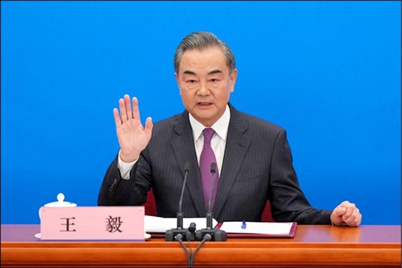 中國外長王毅。(取自中國兩會官網)