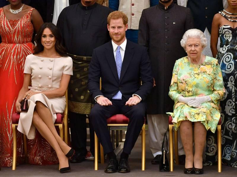 哈利表示,他脫離王室的舉動有和女王在內的多名王室成員討論,並強調「我從來沒有蒙蔽我的祖母」。(路透)