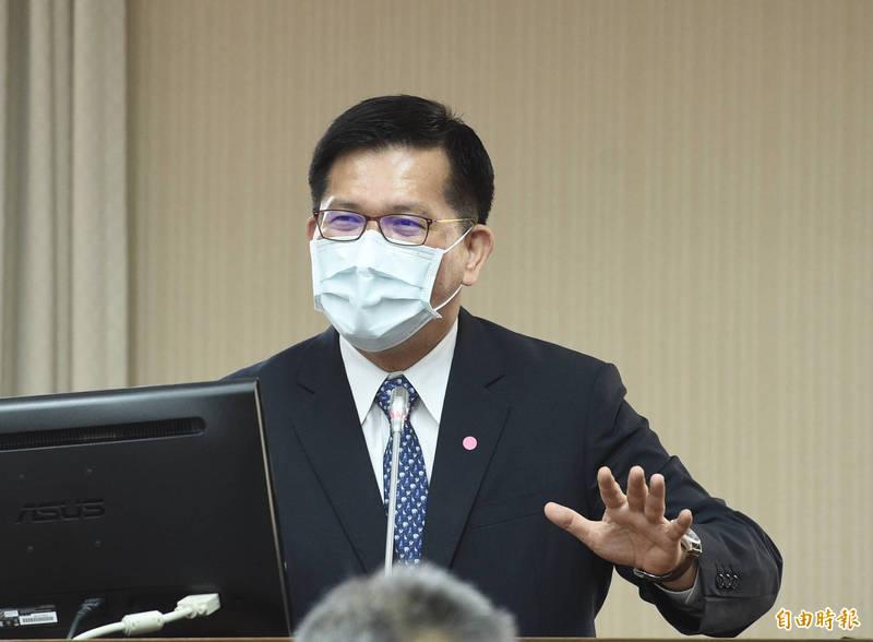 立法院交通委員會10日邀請交通部部長林佳龍列席報告業務概況並備質詢。(記者羅沛德攝)