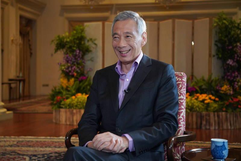 新加坡總理李顯龍接受《英國廣播公司》(BBC)專訪,不認同中國近來的路線。(歐新社檔案照)