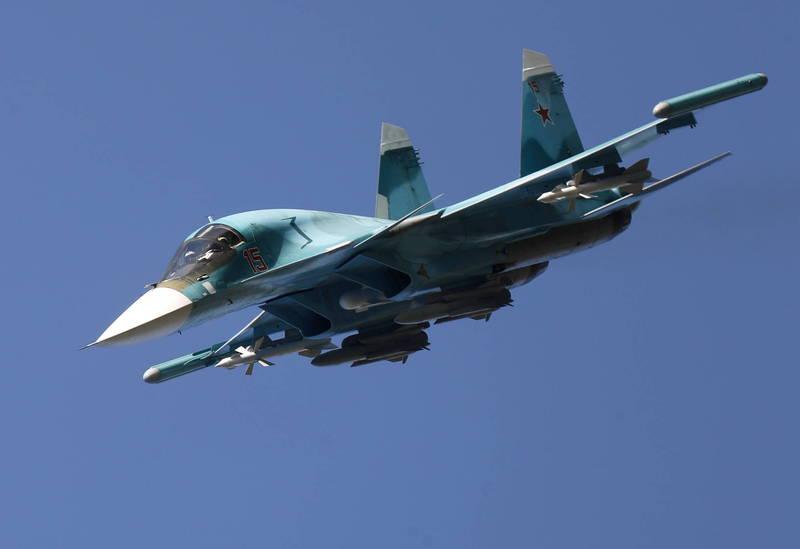 多方消息來源近日透露,非洲國家阿爾及利亞即將與俄羅斯達成14架Su-34中程戰鬥轟炸機採購協議,圖為Su-34轟炸機。(歐新社資料照)