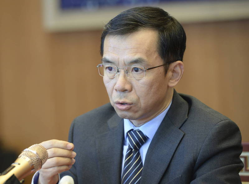 中國駐法國大使盧沙野要求法國參議員取消正在籌備的國會訪台團。(美聯社資料照)