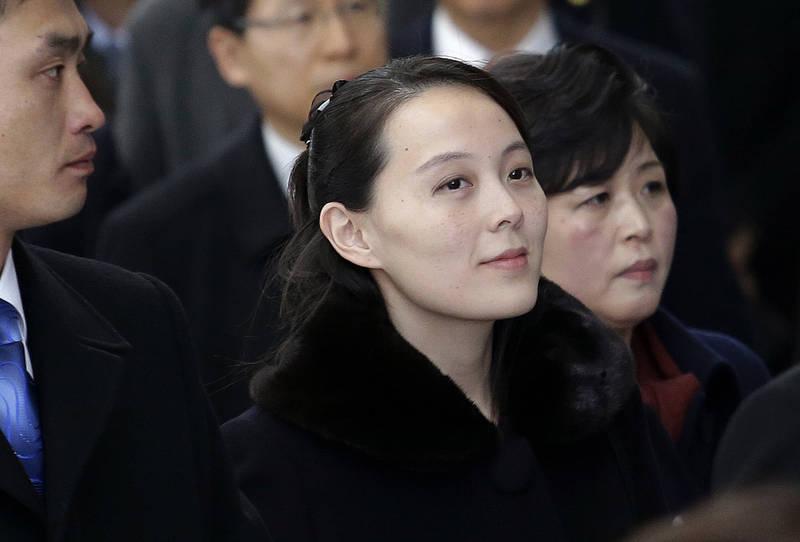 朝鮮勞動黨第一副部長金與正16日批評美國與南韓上週展開聯合軍演。(美聯社)