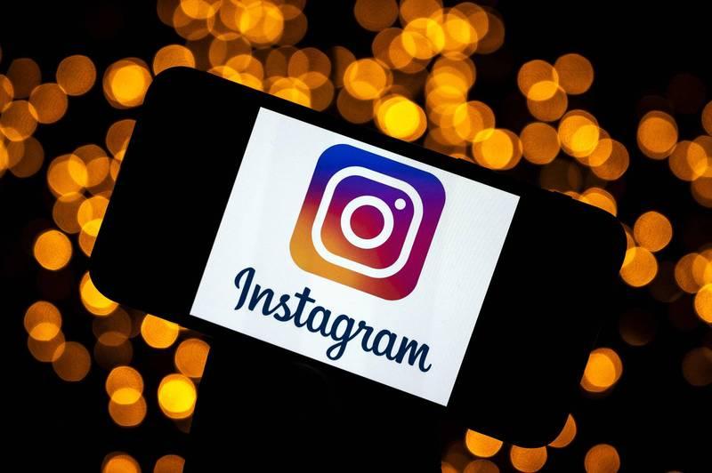 網路社群「Instagram」發布保護未成年使用者的新公告,(法新社)