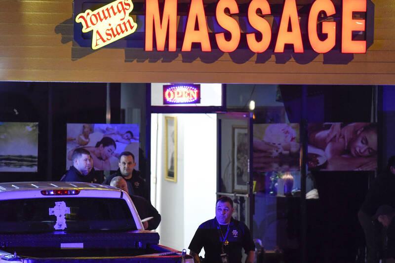 美國喬治亞州當地時間週二,3家按摩SPA館傳出槍擊案。(美聯社)