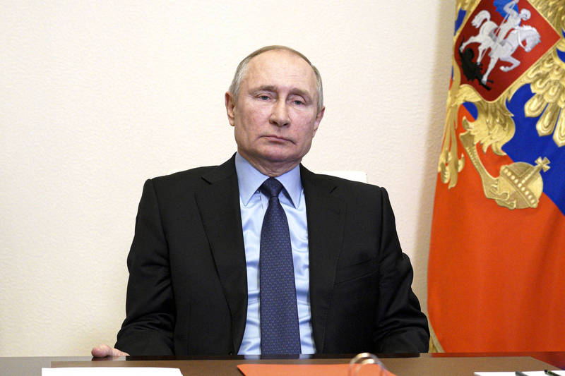 美情報機構認定俄總統普廷介入美國總統大選。(美聯社)