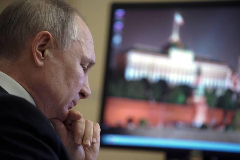 美俄關係緊張,俄國召回駐美大使商討對策。圖為俄總統普廷。(美聯社)