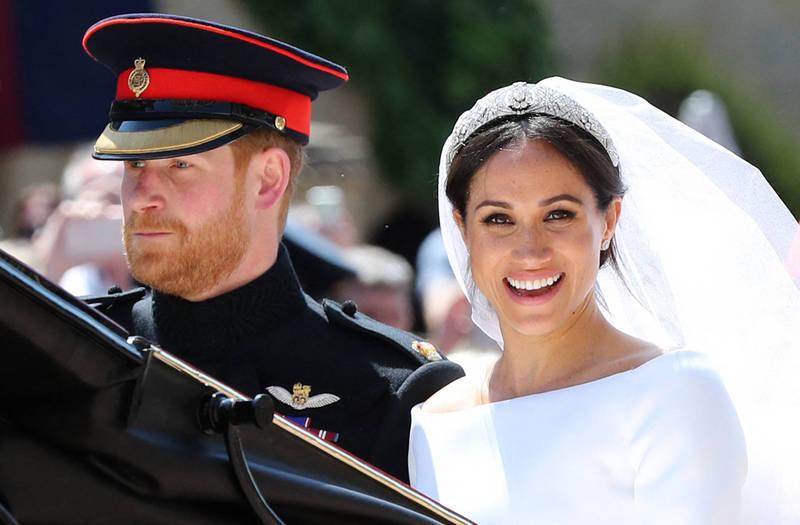 梅根說自己在婚禮的3天前就已經完婚,卻遭到牧師反駁,批評「梅根是美國人,她不懂」。(法新社)