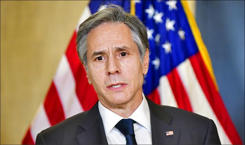 美國國務卿布林肯表示,中美會談後,美國已傳達對中國的關切,並表明拜登政府立場。(法新社)