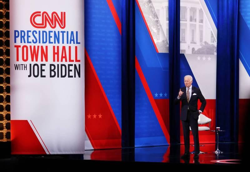 川普預言成真!外媒爆拜登上任後 CNN收視率慘跌