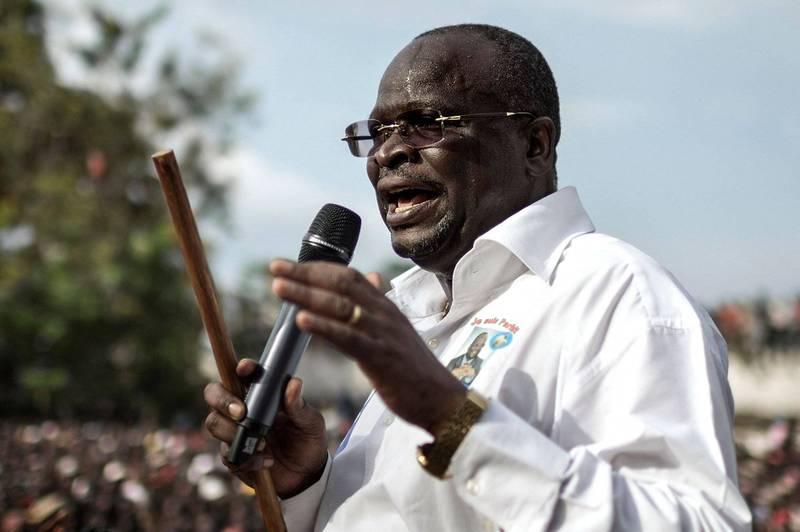 剛果共和國主要在野黨總統候選人科爾拉斯(Guy Brice Parfiat Kolelas),在感染武漢肺炎後病逝,等不到選舉結果出爐。(法新社)
