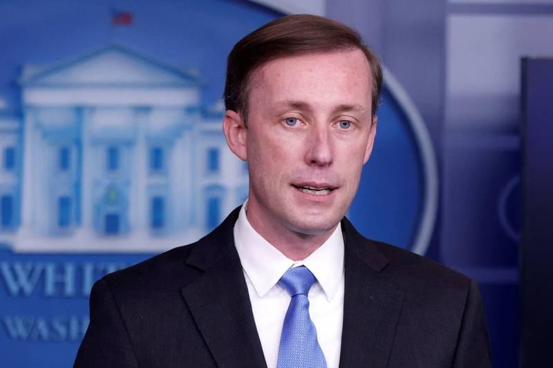 白宮國安顧問蘇利文(Jake Sullivan)22日表示,楊潔篪的長篇大論是沒有作用的古老把戲。(路透資料照)