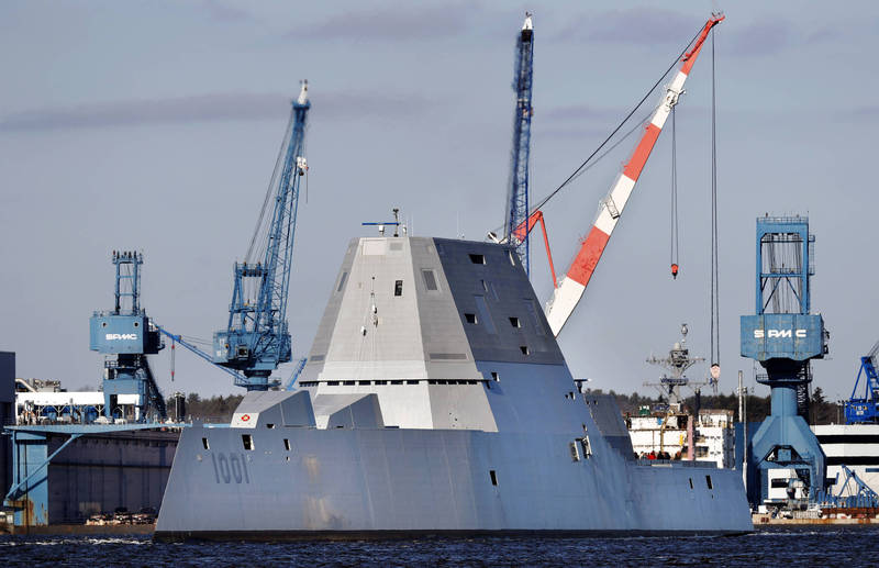 美國海軍的麥可蒙索爾號(USS Michael Monsoor)將於4月參與軍演,負責機艦管制及指揮,是太平洋艦隊迄今為止最複雜的一次演習。(美聯社)