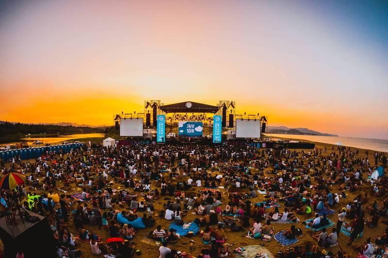 今年的貢寮海洋音樂祭將於7月10日11日兩天舉行,只表演不比賽。(觀旅局提供)