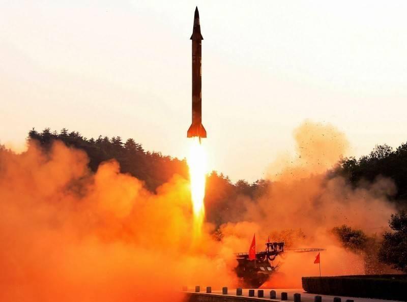 此為北韓試射示意圖。(法新社)