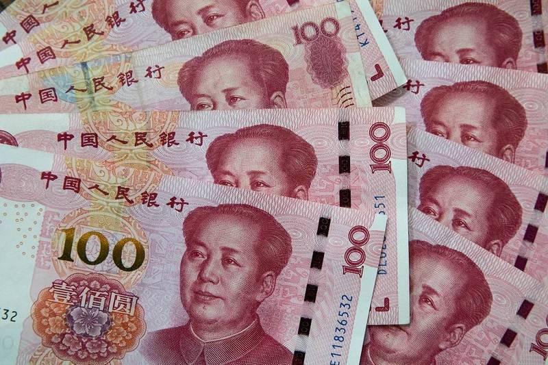 今日有多家中媒刊文,稱人民幣主要成分就是新疆棉花,不少網友跟著叫囂「抵制新疆棉就別賺人民幣」。(歐新社)