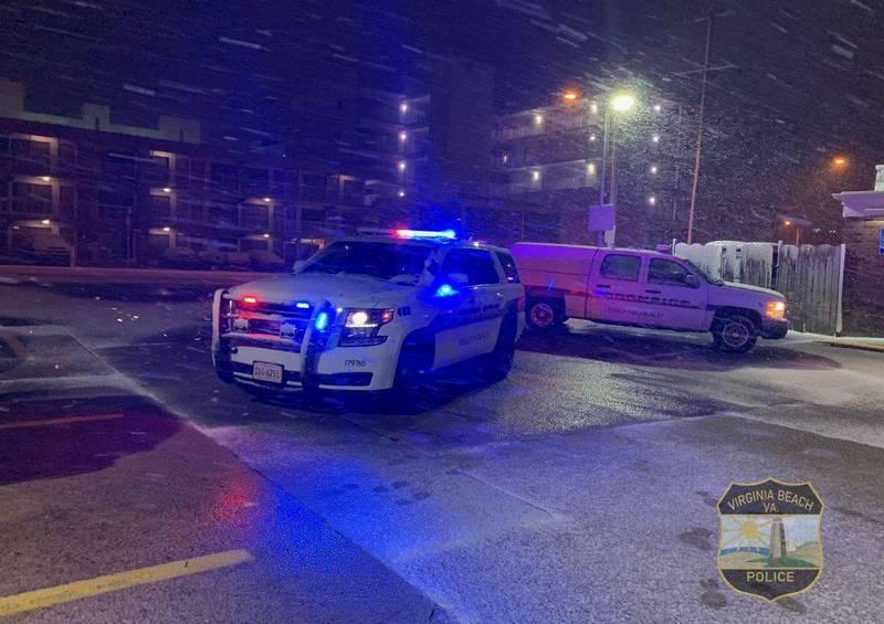 美國維吉尼亞海灘發生槍擊案,至少釀成2死8傷。維吉尼亞海灘警察示意圖。(圖擷自Virginia Beach PD推特)