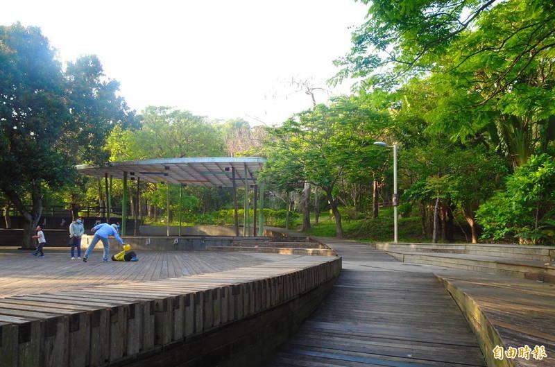 新竹「城鎮風貌及創生環境營造計畫」8案,獲核定總經費4230萬元,其中包括芎林鄉鄧雨賢音樂文化公園即將變身。(記者廖雪茹攝)
