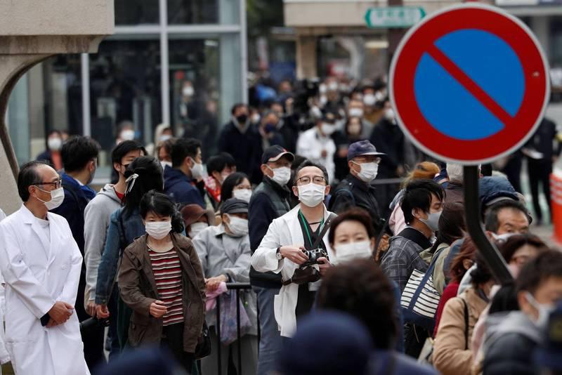 日本境內的變異病毒病例已遍布26個都道府縣。(路透)