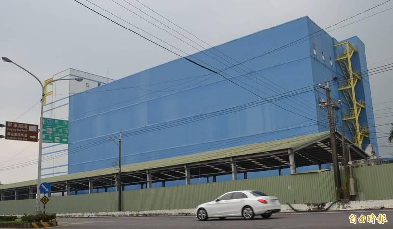 九如大型冷凍工廠3次法拍均流標。(記者李立法攝)