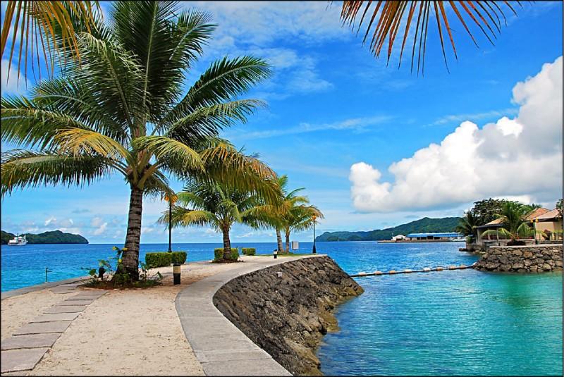 帛琉觀光局宣布,將恢復疫前旅遊行程。(雄獅旅遊提供)