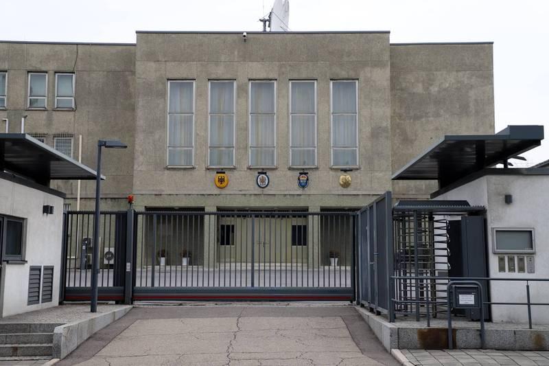 英國、德國、法國、瑞典駐北韓大使館已經暫時關閉。(圖取自「俄羅斯駐北韓大使館臉書」)