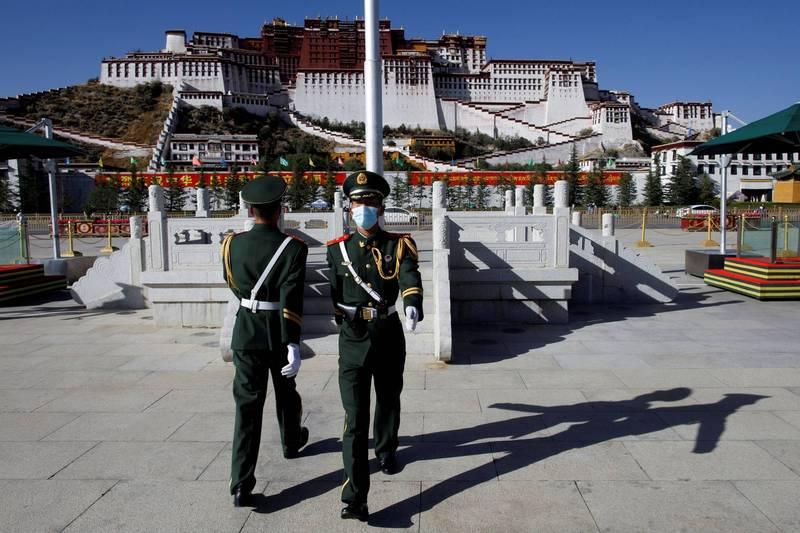 西藏流亡政府發表聲明,指中國領導人習近平致力消除西藏傳統文化與漢化藏人,就是種族滅絕政策。(路透)