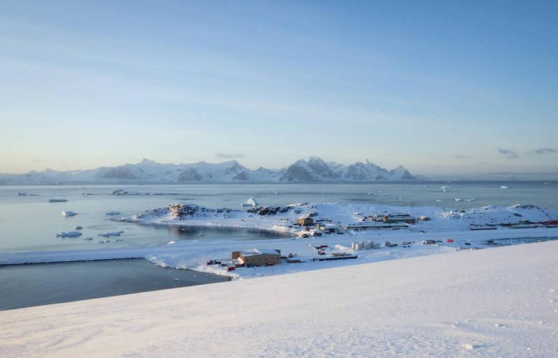 位於南極洲的極寒點是目前已知的地球上最冷的所在,為-89.2℃。圖為南極。(美聯社檔案照)