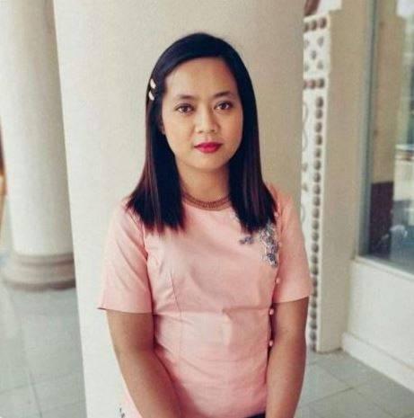南韓新韓銀行在仰光的女職員蘇素姬(見圖)上月31日在回家的途中遭軍方開槍,4月2日上午9點宣告不治。(圖擷取自推特)