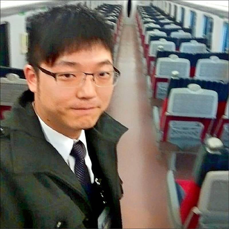 太魯閣號司機員袁淳修(見圖)不幸殉職。(翻攝自臉書)