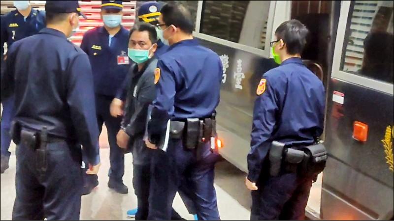 義祥工業社負責人李義祥涉嫌過失致死,花蓮地方法院昨晚重新裁定羈押兩個月。 (記者王錦義翻攝)