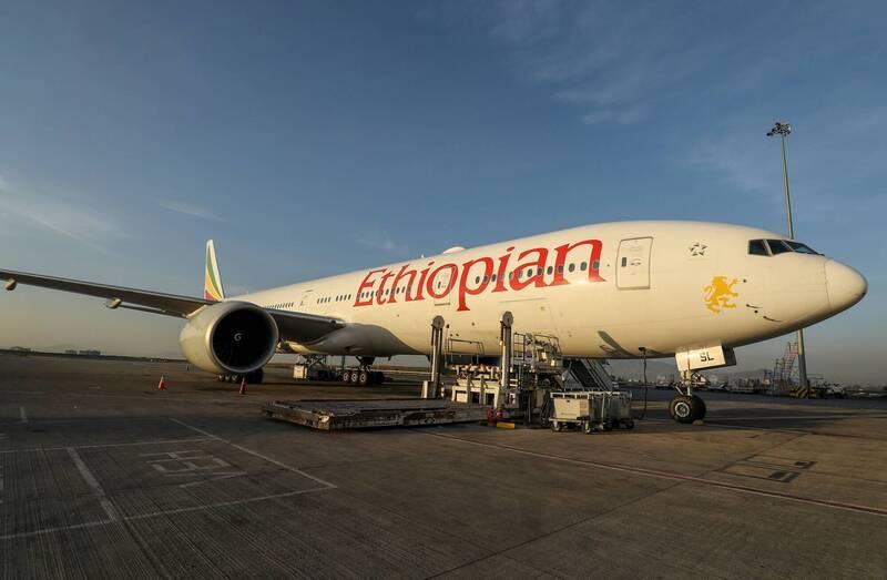 衣索比亞航空一架貨機週日要在尚比亞降落時,雷達上竟不見蹤影,原來是飛錯機場。(路透)