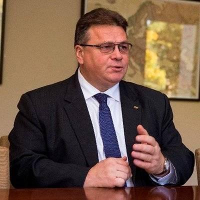 立陶宛外交部長林克維丘斯透露,中國透過施壓立陶宛企業的方式,試圖阻止立陶宛與台灣接近。(取自林克維丘斯推特)