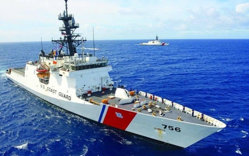 美國海岸防衛隊傳奇級國安巡防艦七號艦金博爾號(USCGC Kimball WMSL-756)。(取自美國海岸防衛隊官網)