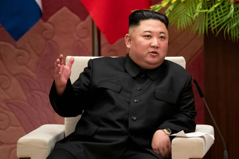 北韓宣布不參加東京奧運。圖為北韓領導人金正恩。(路透資料照)