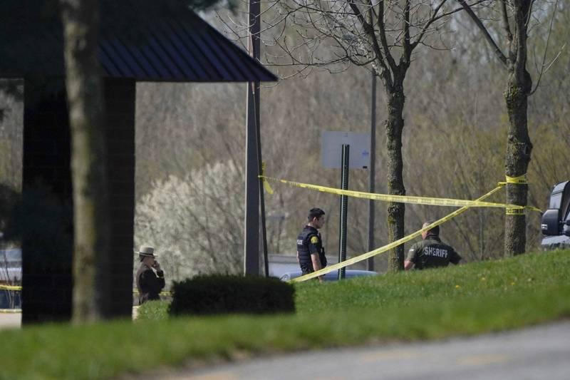 美國馬里蘭州一處商業園區發生槍擊案,海軍士官持槍射傷兩人。(美聯社)