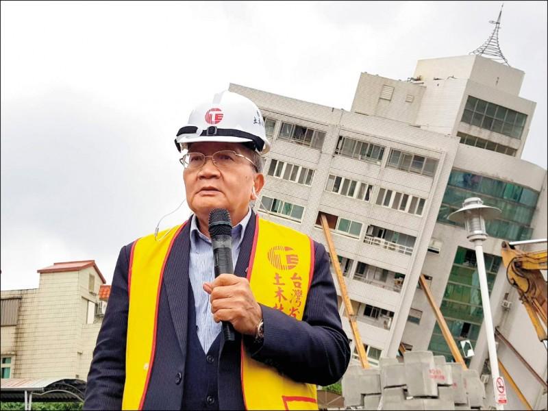 台北市土木建築學會理事長余烈(資料照)
