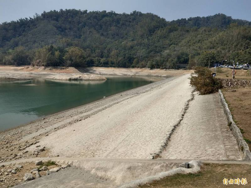 日月潭蓄水「負成長」 進逼水力發電「保命」水位