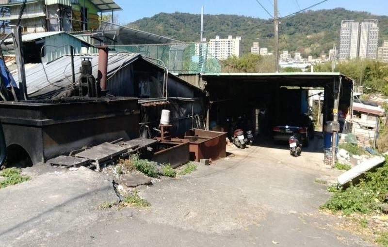 台北市私人養豬戶已離牧無復養情形。(台北市動保處提供)