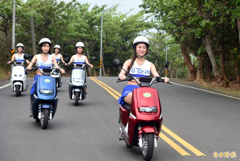 低碳示範島 小琉球引進300台電動機車